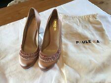 COURT SHOES  SATIN Pink Shoulder PAULE KA Paris size 39 UK 6