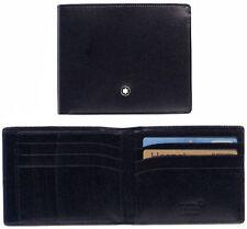 Portafoglio tasca a vista grande Leather Wallet Montblanc Meisterstuck 16354 6cc