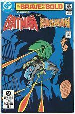 BRAVE AND THE BOLD #196 DC Comics Mar 1983 NM- 9.2 BATMAN RAGMAN Jim APARO C/A