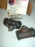 1973 74-78 Ford Mercury Lincoln Brake Cylinders pair usa made!