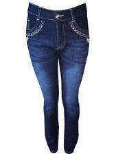 Jeans slim/moulante pour fille de 9 à 10 ans
