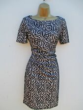 REISS GATHERED SIDE STYLE LACE OVER DRESS SIZE 12