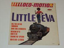 LITTLE EVA Llllloco motion Lp RECORD THE LOCO MOTION ORIG US MONO 1962