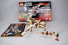 Lego Star Wars X wing Set 6212 100% Complete With Box Manual And Minifigures