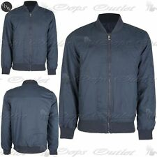 Zip Cotton Collared Coats & Jackets for Men Quilted