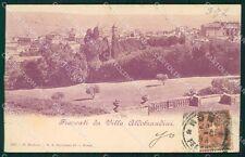Roma Frascati Villa Aldobrandini cartolina XB2611