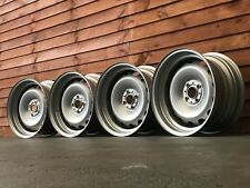 Banded steel wheels, 16inch, 4x100 very rare  staggered set up bmw e30 Vw etc