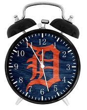 Detroit Tigers Alarm Desk Clock Home or Office Decor F68 Nice Gift