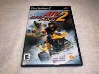 ATV Offroad Fury 2 (Playstation PS2, 2002) Black Label Game Complete LN Mint!