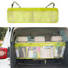 Car Rear Trunk Seat Headrest Foldable Sundries Travel Storage Bag Tidy Organiser