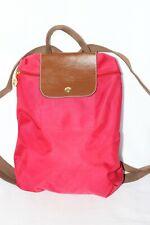Longchamp Le Pliage Nylon Red Backpack Bag Purse