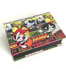 Powerpuff Girls Jewellery Box Black Cartoon Network Rare