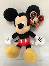 New listing Mickey Mouse 10'' Plush Bean Bag Toy 2014 Disney Just Play Nwt 2+