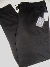 NWT BROOKLYN Large 38 x 31 Comfort Waistband Stretch THE JOGGER Black Pants