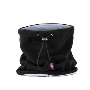 Adjustable Double Layer Fleece Cotton Neck Warmer Balaclava Thick Winter Gaiter