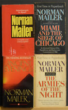 NORMAN MAILER 4 Paperback LOT Miami and the Siege of Chicago