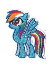 RAINBOW DASH IRON ON / SEW ON PATCH Embroidered Cartoon MY LITTLE PONY PT165