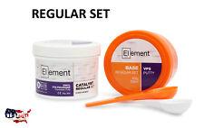 ELEMENT PUTTY REG Set VPS PVS Dental Impression 300 ML Base & Catalyst NO BOX