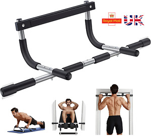 Doorway Pull Up Bar Fitness Workout Bar Strength Situp Exercise Gym Portable