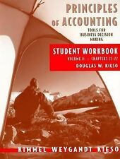 Principles of Accounting, with Annual Report, Student Workbook, Vol. II, Paul D.