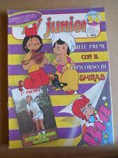 TV JUNIOR n°24  1981 Pinocchio Panebarco - Mazinga Z -  ERI RAI  [G419A]