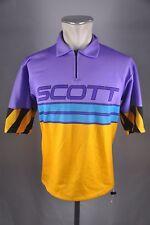 Scott vintage Rad Trikot Gr. ca. M-L BW 55cm Bike cycling jersey Shirt BC1