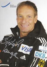 Christoph LANGEN - Deutschland, Gold Olympia 1998 Bobsport, Original-Autogramm!
