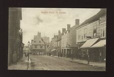 Herts Hertfordshire ST ALBANS Market Place H Olney Boots pre1919 PPC
