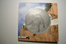 RARE!!! Canada 2014 Bob Cat Gem Beauty $20 Silver Coin