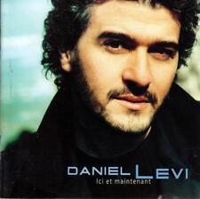 CD audio.../...DANIEL LEVI.../...ICI ET MAINTENANT....