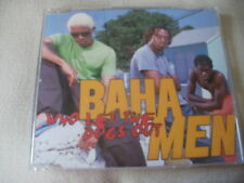 BAHA MEN - WHO LET THE DOGS OUT - UK CD SINGLE