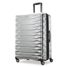Samsonite Prisma Silver 360° Spinner 4 Wheel Hardside Suitcase Luggage Suit Case