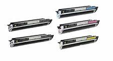 5-Pack/Pk CF350A CF351A CF352A CF353A 130A Toner For HP LaserJet M176n  M177fw