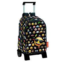 EMOJI -Mochila de bolsillos intercambiables-carro extraíble/Big backpack/trolley