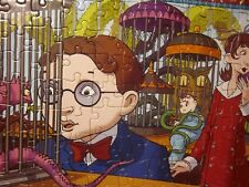 SERIES OF UNFORTUNATE EVENTS revealing jigsaw puzzle 2004 cartoon Lemony Snicket