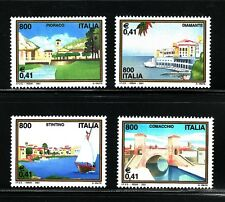 SELLOS  ITALIA 2001 2484/87 TURISMO 4v.