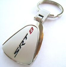 SRT-8 KEY CHAIN RING FOB CHRYSLER 300 HEMI DODGE CHARGER CHALLENGER 2017 CHROME