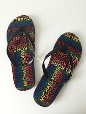 Michael Kors Sandals Flip Flops Mules Size 7,8, 10 Black