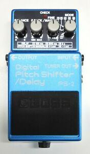 BOSS PS-2 Digital Pitch Shifter Delay Guitar Effects Pedal #102 DHL or EMS
