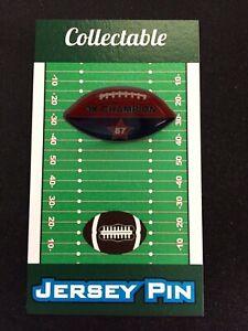 New England Patriots Rob Gronkowski football lapel pin-Collectible