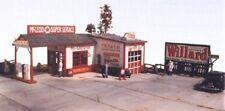 JL Innovative 311 HO McLeod Super Service Gas Station Wooden Kit