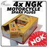 4x NGK Spark Plugs for BMW 1170cc R1200GS (Twin Spark) Ø12mm Plug 04->09 No.7168