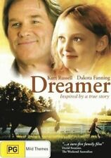 DREAMER: Inspired By A True Story DVD NEW FAMILY RACE HORSE RACING SPORT R4