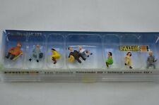 FALLER SITTING PERSONS III 8 FIGURE SET HO GAUGE 50703