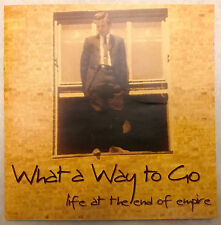 (Rare) WHAT A WAY TO GO - Life At The End Of Empire DVD with VERY RARE BONUS DVD