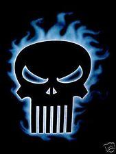 Mens Cool Dead Goth Gothic Scull Black T Shirt~L~