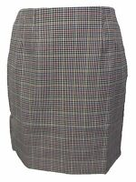 Relco Ladies Retro Rude Girl Biege Tweed Pencil Skirt