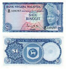 Malaysia $1 P#1a (1967) Bank Negara Malaysia UNC