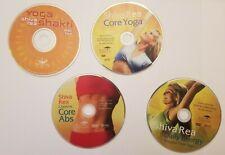 Shiva Rea Lot of 4 Yoga Dvds: Daily Energy, Core Yoga, Yoga Shakti, Core Abs