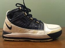 6fe60aacddc79e 2005 NIKE Lebron James ZOOM 3 Midnight Navy Silver Youth Size 5.5 Women s 7